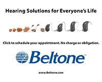 Hear better everywhere life takes you!  There's a Beltone hearing aid for every lifestyle.