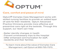 Optum Complex Care Managment works with skilled nursing facilities to provide an added layer of care for their residents.