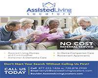 Assisted Living Locators is no cost referral and placement agency that helps you find the perfect place for your loved one to call home.